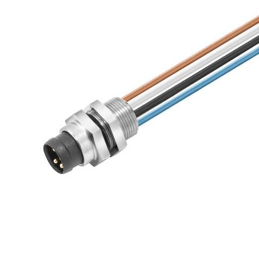 Sensor-/Aktor-Einbausteckverbinder M8 Stecker, Einbau Polzahl: 4 Weidmüller 1861290000 SAIE-M8R-4-0.5U-FP-M8 1 St.