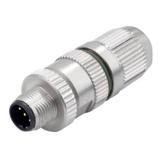 Sensor-/Aktor-Steckverbinder, unkonfektioniert M12 Stecker, gerade Polzahl (RJ): 3 Weidmüller 1864730000 SAIS-3-IDC-M12
