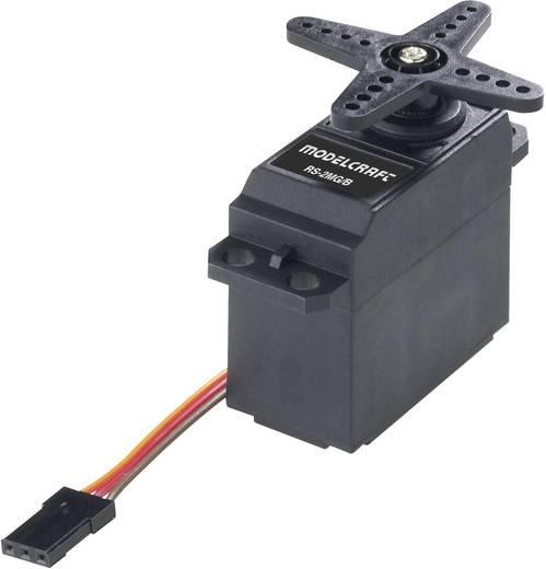 Modelcraft Standard-Servo RS2 MG/BB Analog-Servo Getriebe-Material: Metall Stecksystem: JR