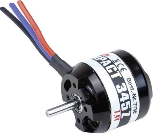 Flugmodell Brushless Elektromotor COMPACT 345Z 7,4V Graupner kV (U/min pro Volt): 1500