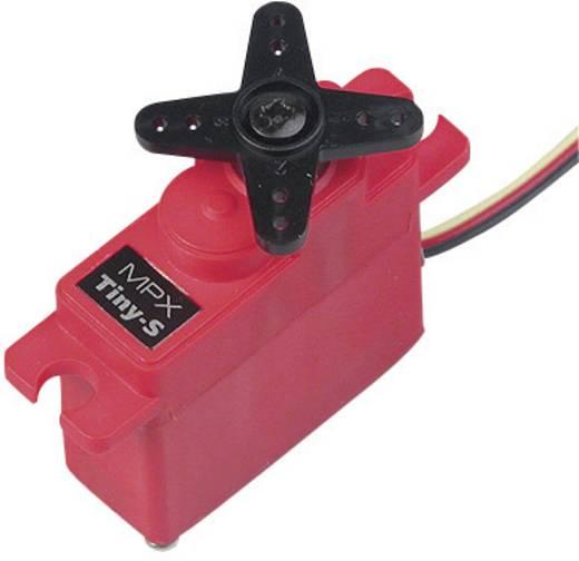 Multiplex Midi-Servo Tiny-S Analog-Servo Getriebe-Material: Kunststoff Stecksystem: JR
