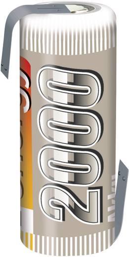 Modellbau-Akku-Einzelzelle NiMH 4/5 AF 1.2 V 2000 mAh Conrad energy mit Lötfahne