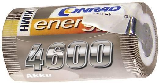 Modellbau-Akku-Einzelzelle NiMH Sub-C 1.2 V 4600 mAh Conrad energy mit Lötfahne