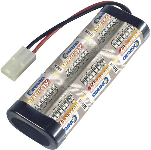 Modellbau-Akkupack (NiMh) 7.2 V 4000 mAh Zellen-Zahl: 6 Conrad energy Stick Tamiya-Stecker