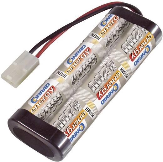 Modellbau-Akkupack (NiMh) 7.2 V 4200 mAh Zellen-Zahl: 6 Conrad energy Stick Tamiya-Stecker