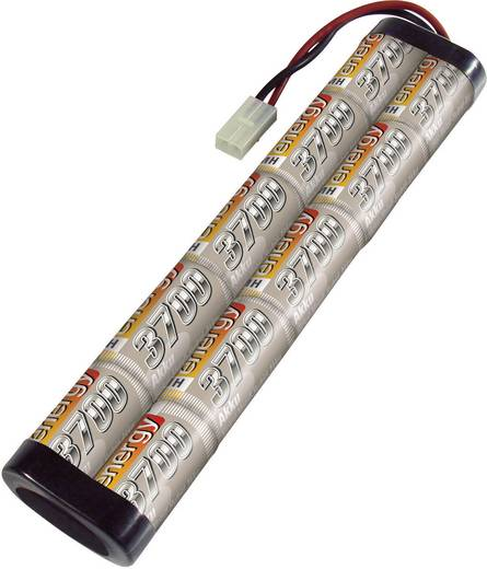 Modellbau-Akkupack (NiMh) 12 V 3700 mAh Conrad energy Stick Tamiya-Stecker