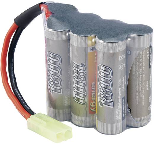 Conrad energy Modellbau-Akkupack (NiMh) 8.4 V 1800 mAh Zellen-Zahl: 7 Hump Mini-Tamiya Stecker