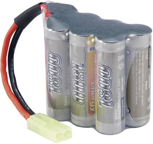 Modellbau-Akkupack (NiMh) 8.4 V 1800 mAh Zellen-Zahl: 7 Conrad energy Hump Mini-Tamiya Stecker