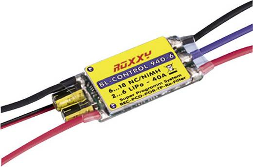 Flugmodell Brushless Flugregler ROXXY BL Controll 940-6 Belastbarkeit (max.): 50 A