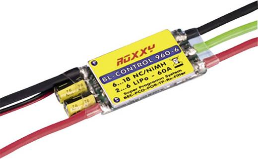 Flugmodell Brushless Flugregler ROXXY BL Control 960-6 Belastbarkeit (max.): 70 A