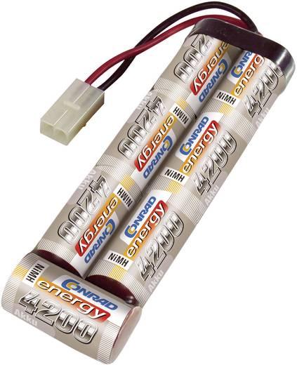 Conrad energy Modellbau-Akkupack (NiMh) 8.4 V 4200 mAh Zellen-Zahl: 7 Stick Tamiya-Stecker