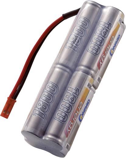 Modellbau-Senderakku (NiMh) 9.6 V 1800 mAh Conrad energy Block BEC