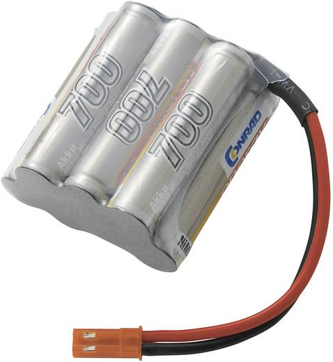 Modellbau-Akkupack (NiMh) 8.4 V 700 mAh Conrad energy Block BEC