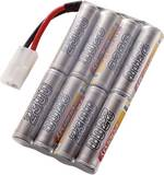 Batterie d'accumulateurs (NiMh) 9.6 V 2300 mAh Conrad energy 206671 stick fiche Tamiya mâle