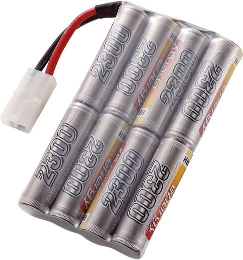 Modellbau-Akkupack (NiMh) 9.6 V 2300 mAh Zellen-Zahl: 8 Conrad energy Stick Tamiya-Stecker