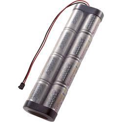 Akupack NiMH Conrad Energy Sub-C, 9,6 V, 2400 mAh, Stick, Graupner