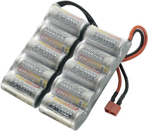 Conrad energy Modellbau-Akkupack (NiMh) 12 V 2400 mAh Zellen-Zahl: 10 Side by Side T-Buchse
