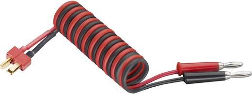 Ladekabel [2x Bananenstecker - 1x T-Stecker] 250 mm 4 mm² Modelcraft