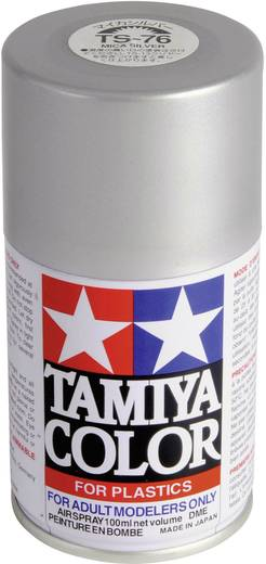 Tamiya 85076 Acrylfarbe Mica-Silber Farbcode: TS-76 Spraydose 100 ml