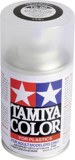 Tamiya 85080 Acrylfarbe Matt (klar) Farbcode: TS-80 Spraydose 100 ml