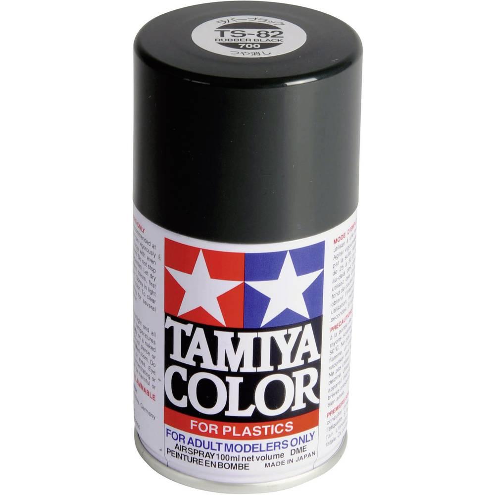 peinture acrylique tamiya 85082 noir caoutchouc 100 ml sur le site internet conrad 207407. Black Bedroom Furniture Sets. Home Design Ideas