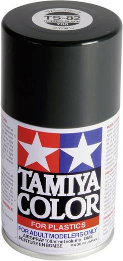 Tamiya 85082 Acrylfarbe Gummischwarz Farbcode: TS-82 Spraydose 100 ml