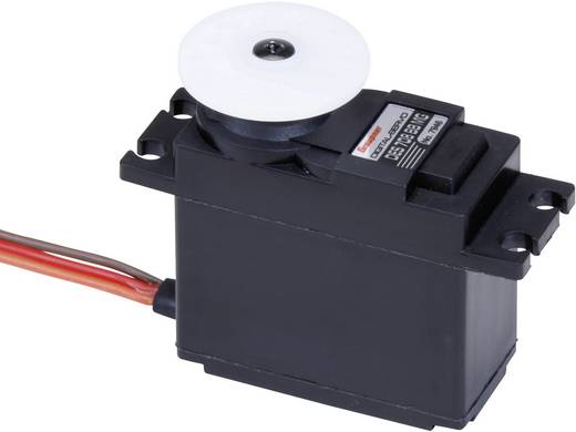 Graupner Standard-Servo DES 708 BB, MG Digital-Servo Getriebe-Material: Metall Stecksystem: JR