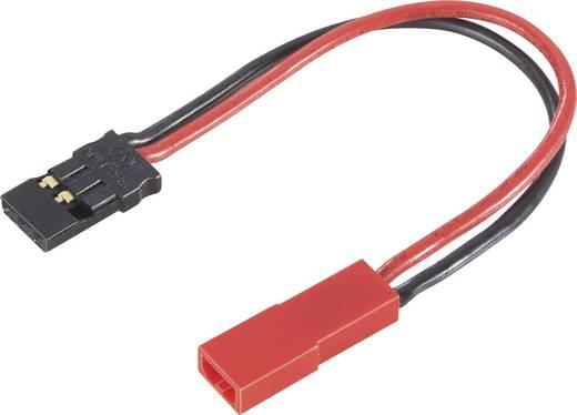 Akku Adapterkabel [1x BEC-Stecker - 1x JR-Buchse] 12 cm 0.50 mm² Modelcraft