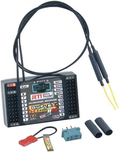 14-Kanal Empfänger Jeti Duplex R14 2,4 GHz Stecksystem JR