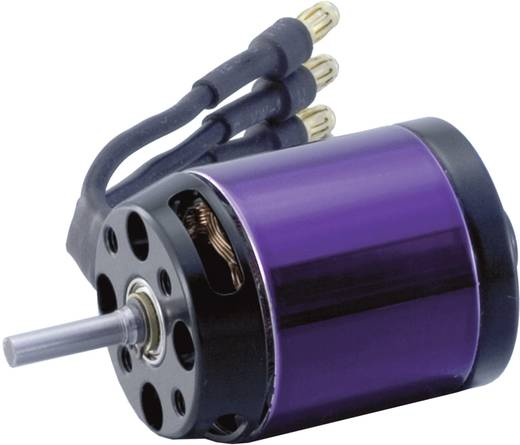 Flugmodell Brushless Elektromotor A20-6 XL 10-Pole EVO Hacker kV (U/min pro Volt): 2500 Windungen (Turns): 6