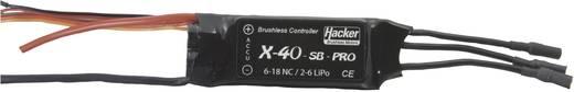 Flugmodell Brushless Flugregler Hacker X-40-SB-Pro BEC