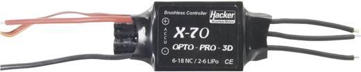 Flugmodell Brushless Flugregler Hacker X-70-OPTO Pro 3D