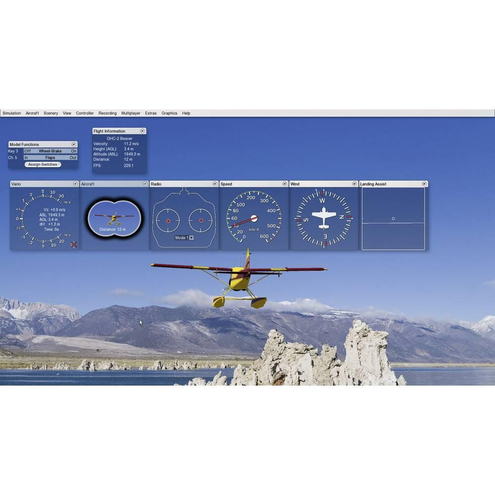 simulateur de vol aerofly 5 sur le site internet conrad 208939. Black Bedroom Furniture Sets. Home Design Ideas