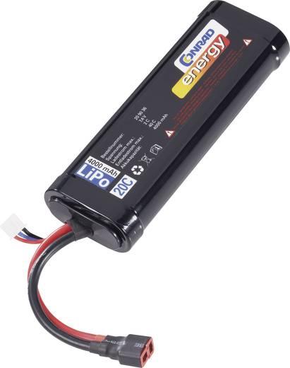 Modellbau-Akkupack (LiPo) 7.4 V 4000 mAh Zellen-Zahl: 2 20 C Conrad energy Stick Hardcase T-Buchse