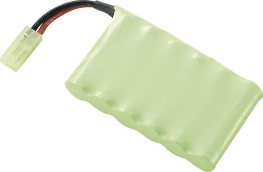 Modellbau-Akkupack (NiMh) 7.2 V 800 mAh Conrad energy Side by Side Mini-Tamiya Stecker