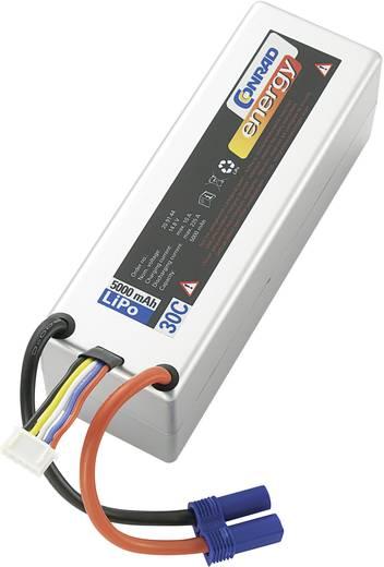 Modellbau-Akkupack (LiPo) 14.8 V 5000 mAh 30 C Conrad energy Box Hardcase EC5