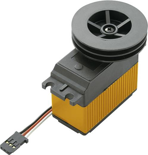 Modelcraft Spezial-Servo RS-10 Digital-Servo Getriebe-Material Kunststoff Stecksystem JR