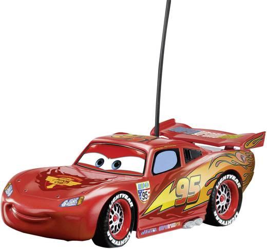 Dickie Toys 203089501 Cars Lightning McQueen 1:24 RC Einsteiger Modellauto Elektro Straßenmodell 27 + 40 MHz