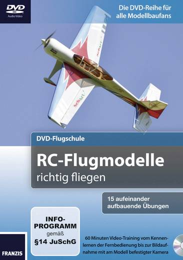 Buch Franzis Verlag DVD-Flugschule RC-Flugmodelle richtig fliegen