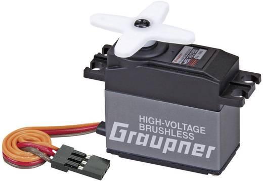 Graupner Standard-Servo HBS 760 BB Brushless-Servo Getriebe-Material: Carbon Stecksystem: JR