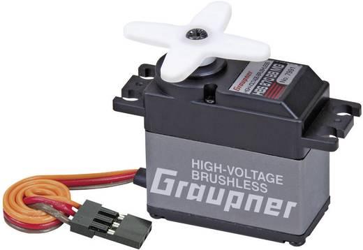 Graupner Standard-Servo HBS 870 BB MG Brushless-Servo Getriebe-Material: Metall Stecksystem: JR