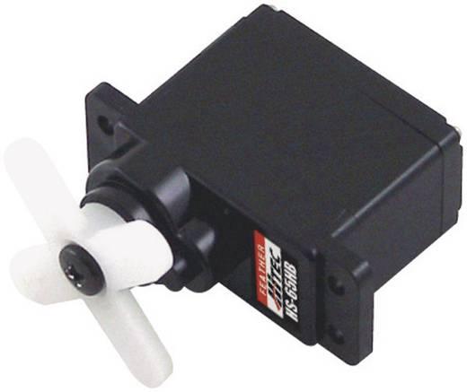 Hitec Mini-Servo HS-65HB Analog-Servo Getriebe-Material: Karbonite Stecksystem: JR