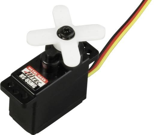Hitec Mini-Servo HS-65MG Analog-Servo Getriebe-Material: Metall Stecksystem: JR
