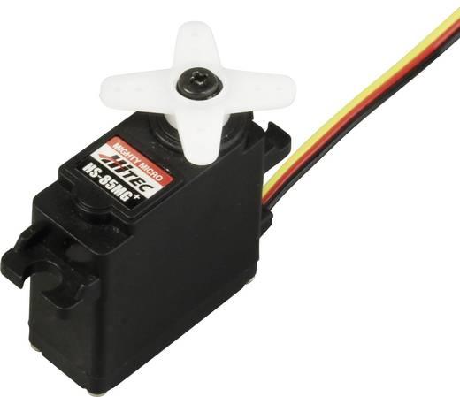 Hitec Midi-Servo HS-85MG Analog-Servo Getriebe-Material: Metall Stecksystem: JR