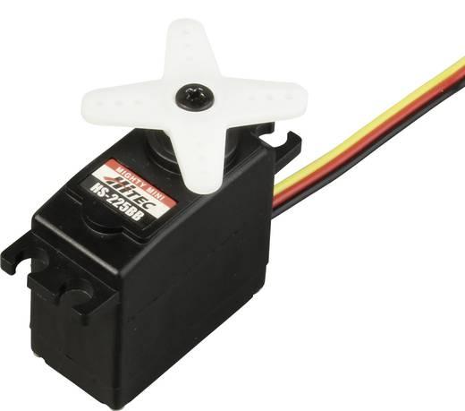 Hitec Midi-Servo HS-225BB Analog-Servo Getriebe-Material: Polyamid Stecksystem: JR