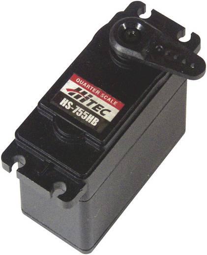 Hitec Spezial-Servo HS-755HB Analog-Servo Getriebe-Material: Karbonite