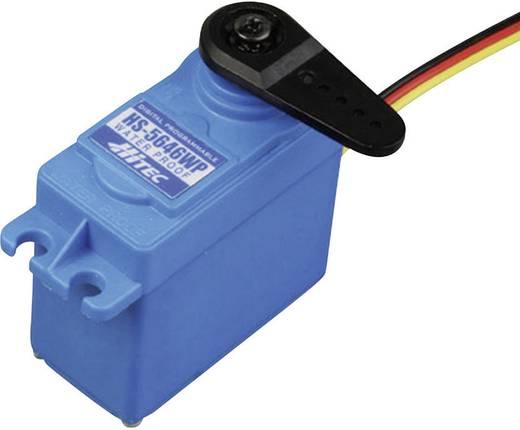 Hitec Standard-Servo HS-5646WP Digital-Servo Getriebe-Material: Metall Stecksystem: JR
