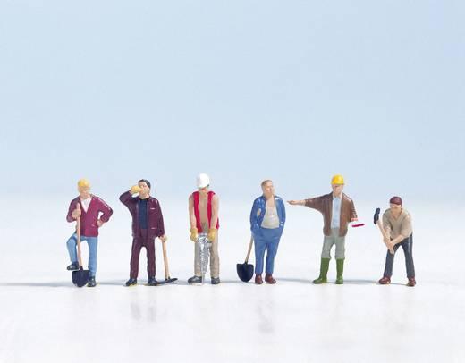 NOCH 15110 H0 Figuren Bauarbeiter