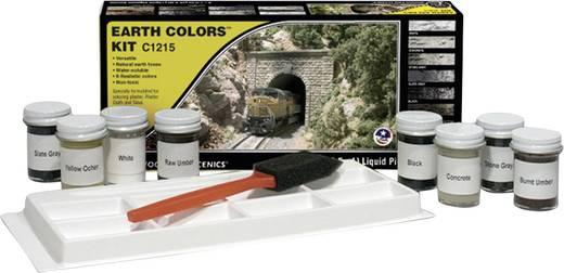 Modellbahn-Mischset Erdfarben (earth) Woodland Scenics WC1215 1 Set