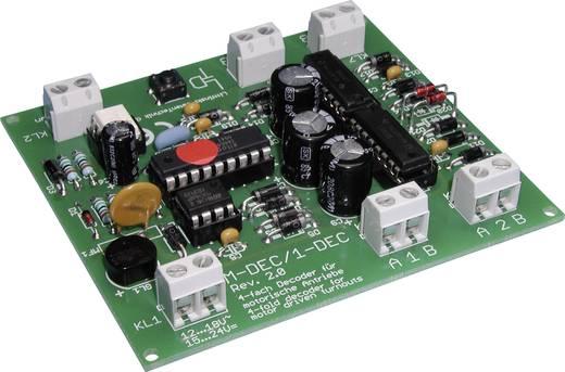 LDT Littfinski Daten Technik M-DEC Weichendecoder Baustein, ohne Kabel, ohne Stecker